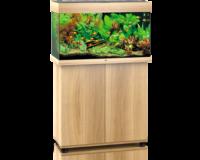 Juwel Rio 125 LED helles Holz, Unterschrank optional