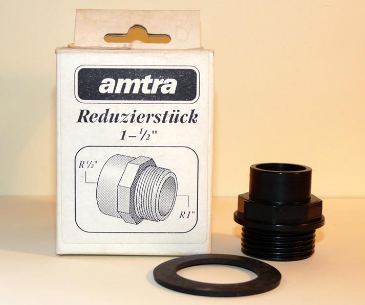 "Amtra Reduzierstück 1"" AG - 1/2"" IG"