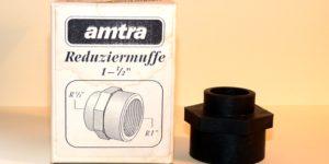 """Amtra Reduziermuffe 1 - 1/2"""" Innengewinde"""