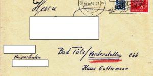BRD Theodor Heuss mit Zuschlagsmarke