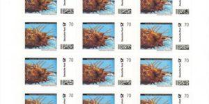 AA-Briefmarkenbogen 20x0,70 € Deutsche Post Individuell Antennenwels