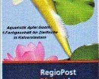 Briefmarke Zierfische RegioPost-Pfalz 85 Cent