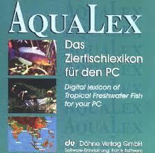 Aqualex CD-ROM Das Zierfischlexikon für den PC
