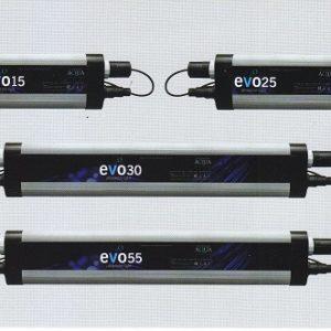 EVO UV 30 Watt - auf dem Bild in der Mitte