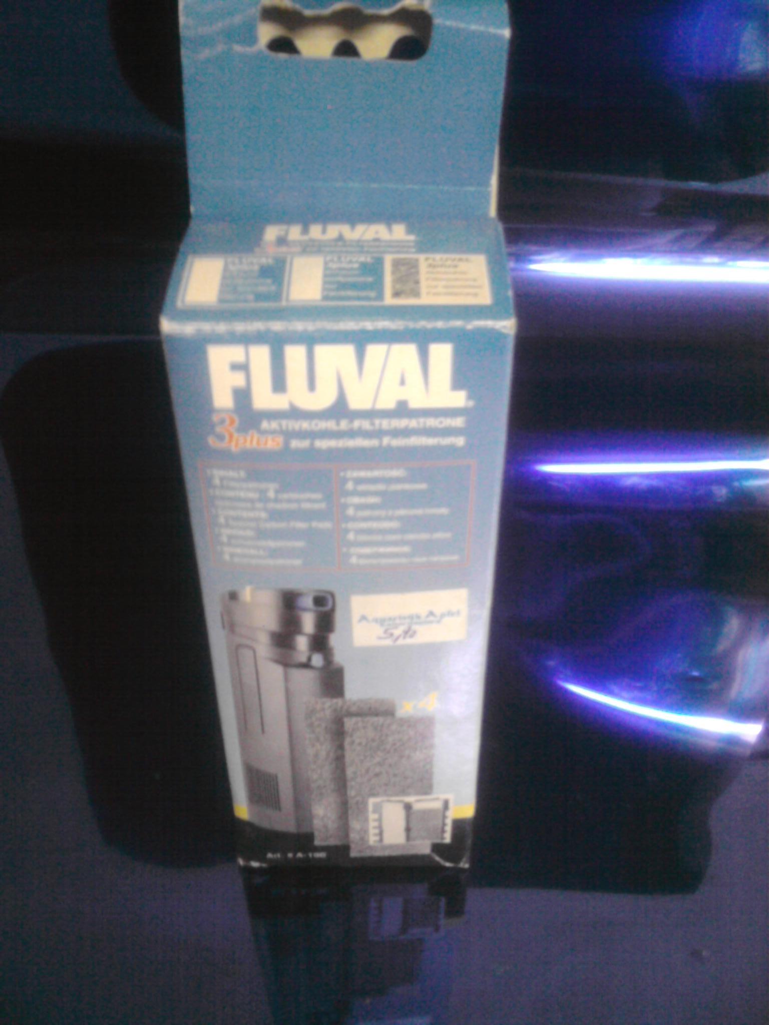 Aktivkohlefilter Fluval 3plus