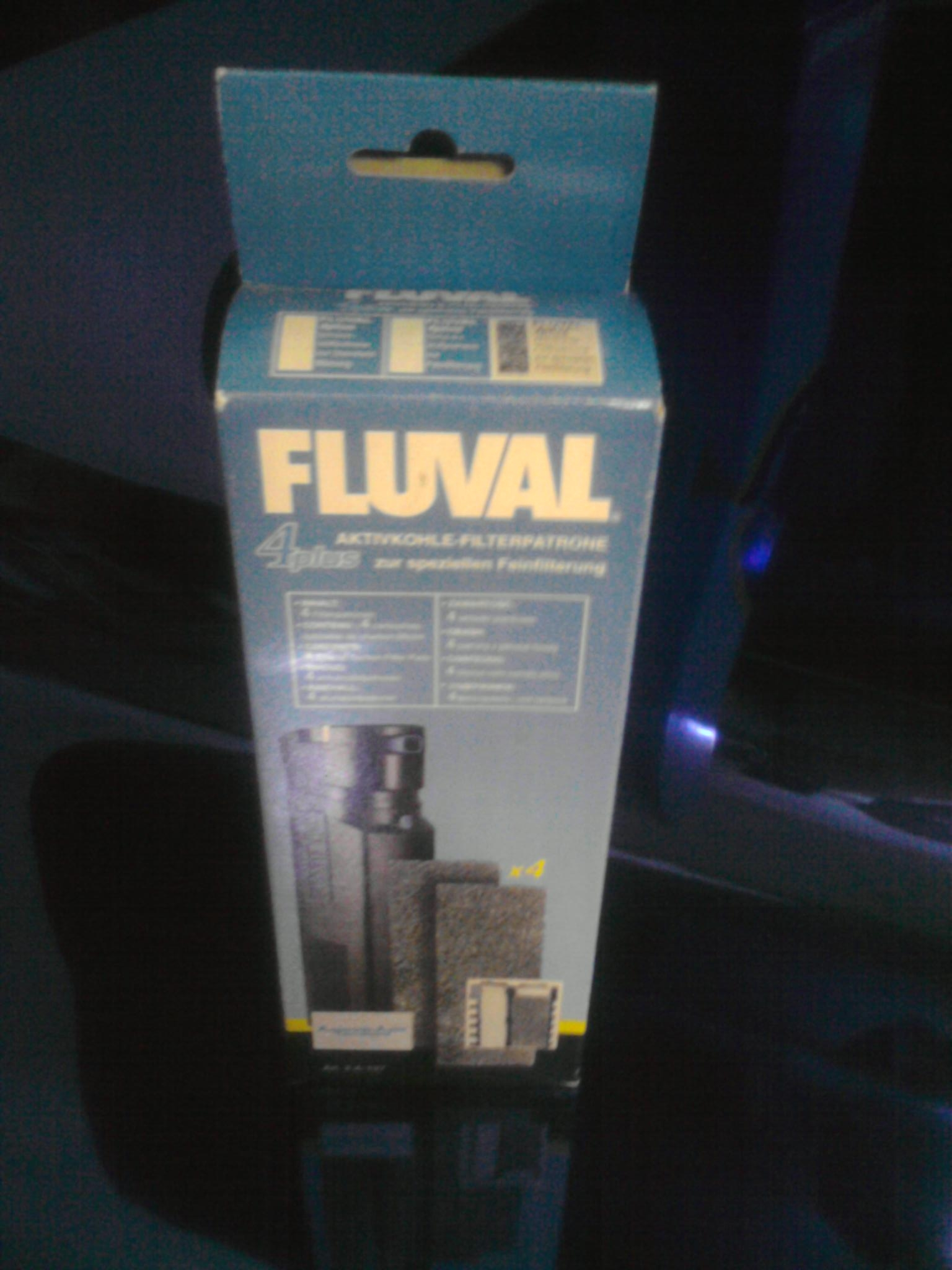 Aktivkohlefilter Fluval 4plus