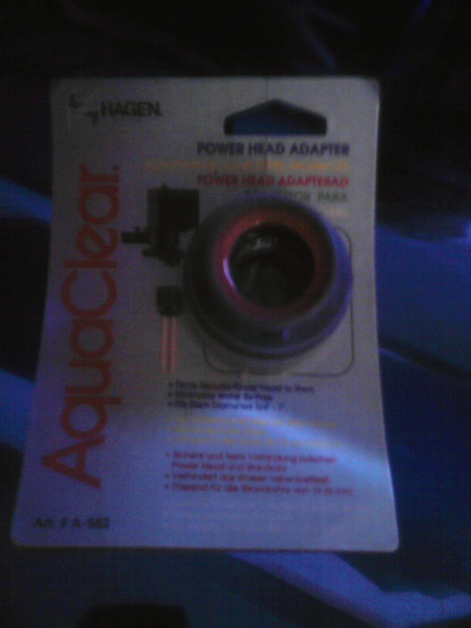 Adapter für Power Head Schnellfilter