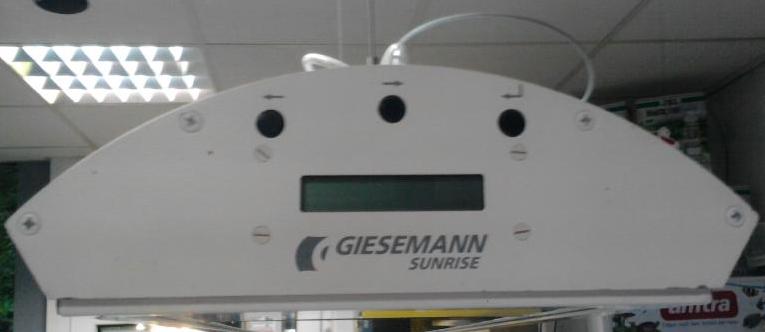 Giesemann sunrice System 260 - TL sunrice in der Farbe blau