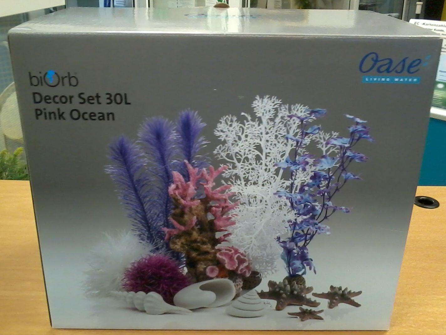 Oase biOrb DecorSet 30 Liter - pink ocean