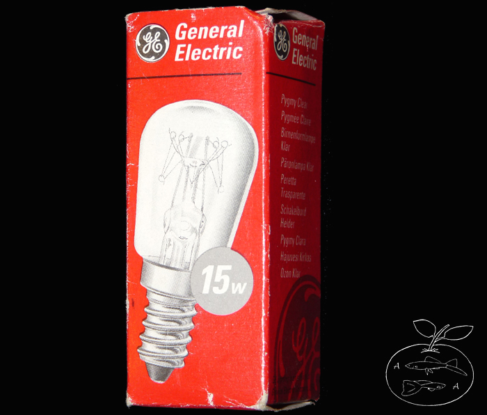 Glühbirne spezial 15 Watt