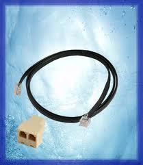 Verteiler für 2 Leuchtbalken + 1 Meter Kabel