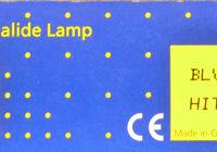 HQI Metalldampflampe 70 Watt/dw
