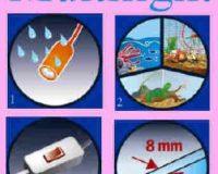 Bild 1 : Spritzwasserfeste Lampe Bild 2 : Einfache Verwendung, individuell anpassbar Bild 3 : mit Ein-und Aus Schalter Bild 4 : für Aquarien bis 8 mm Glasstärke