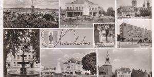Ansicht Kaiserslautern vor 1955