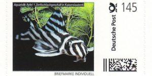 AA-Briefmarke 1,45 €  Deutsche Post Individuell Zebrawels