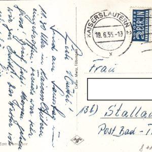 BRD #183x Theodor Heuss mit Zuschlagsmarke