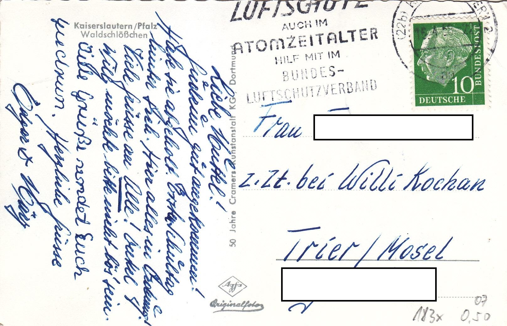 BRD #183x Theodor Heuss