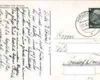Deutsches Reich # 516 auf Postkarte
