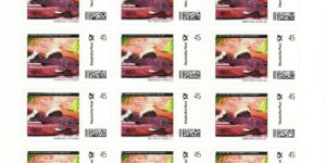 AA-Briefmarke 20 x 0,45 € Deutsche Post Individuell Magnum-Prachtharnischwels