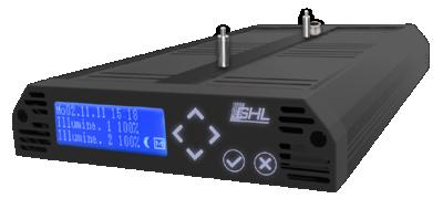 LED-Hängeleuchte Mitras LX 6000-Serie Schwarz