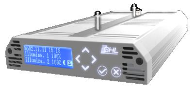 LED-Hängeleuchte Mitras LX 6000-Serie Silber metallic
