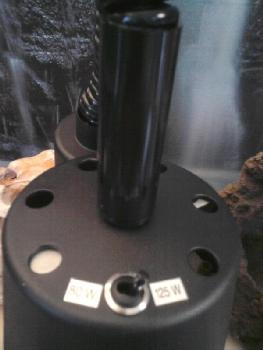 Umschalter auf der Oberseite 80/125 Watt