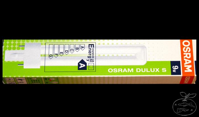 Energiesparlampe Osram Dulux S 9 Watt cool daylight