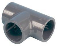 PVC-T-Stück 90°