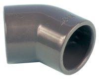 PVC-Winkel 45°