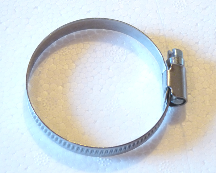 """Edelstahl-Schlauchschelle 40-60 mm (2"""")"""