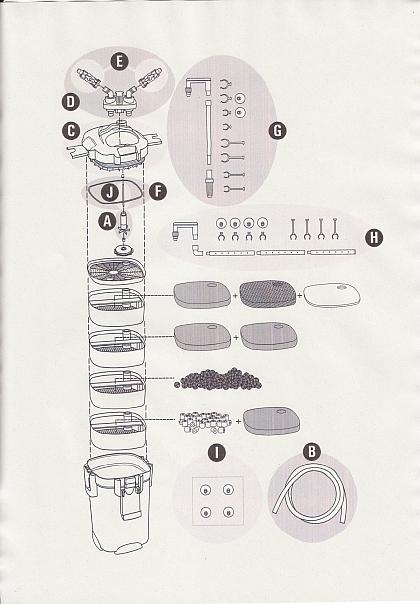 """Buchstabe """"J"""" für die Keramikachse mit zwei Tüllen"""