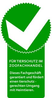 Wir sind Mitglied im Zentralverband Zoologischer Fachbetriebe Deutschlands e.V. (ZZF)