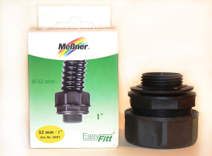 """Meßner Spiralschlauchverbindung 32mm-1"""" ohne die abgebildete Originalverpackung"""