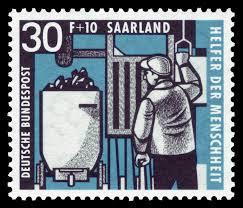 Saar-Briefmarken