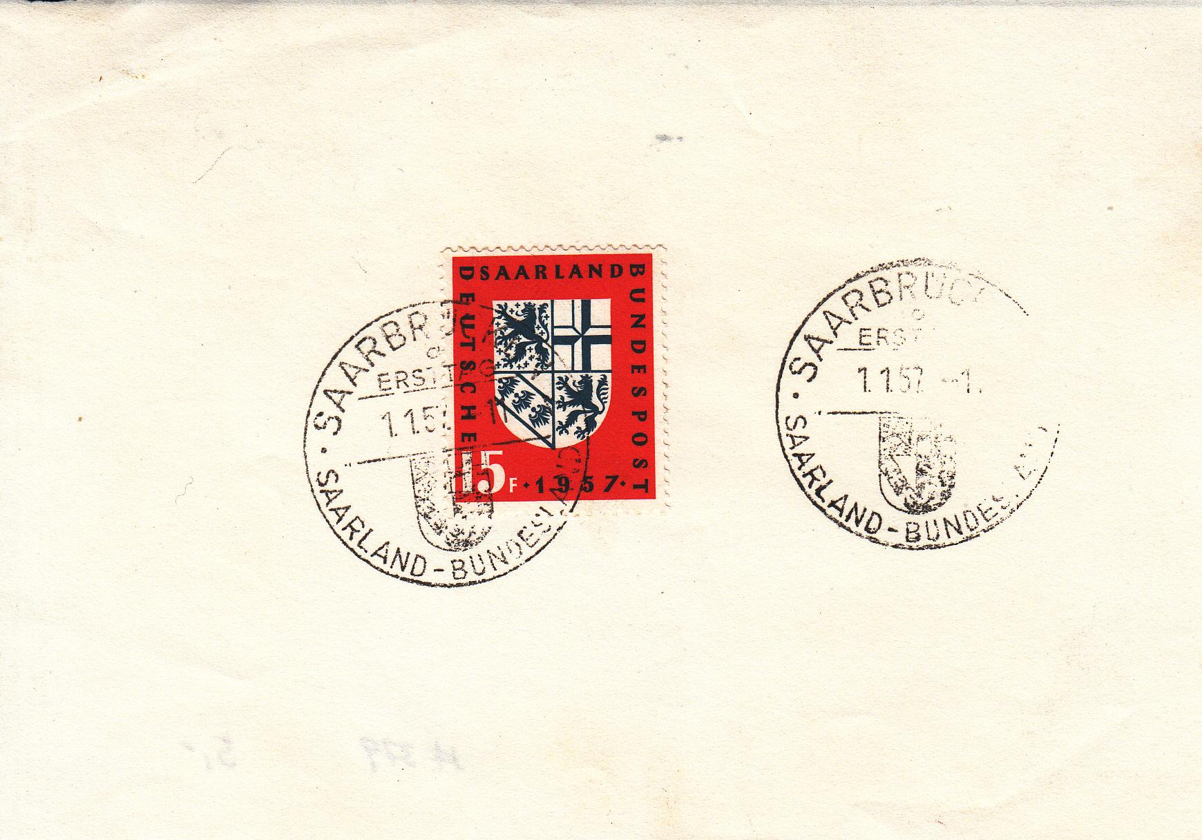 Saar-Briefe/Postkarten