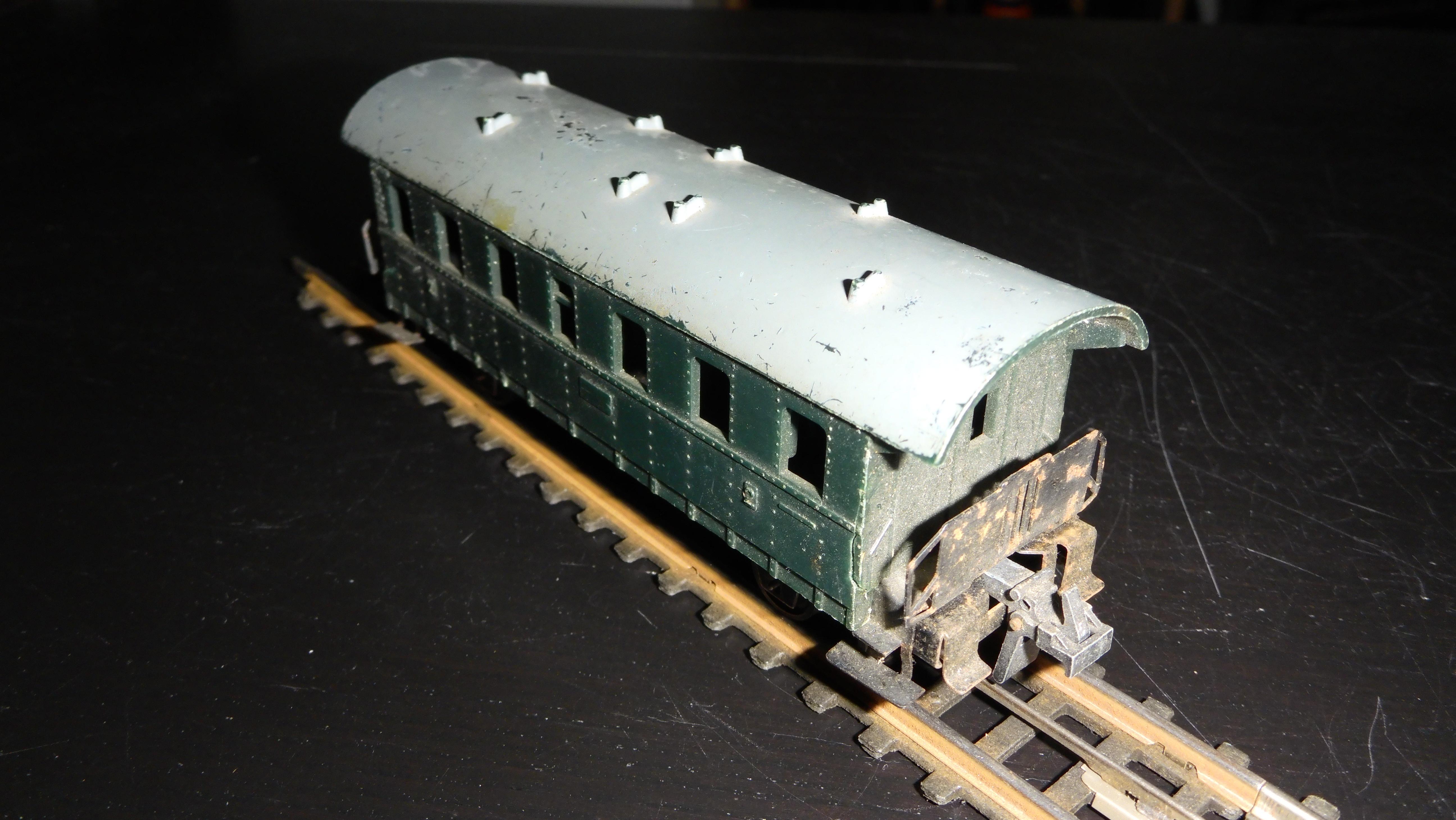 Batteriebahn-Personenwagen